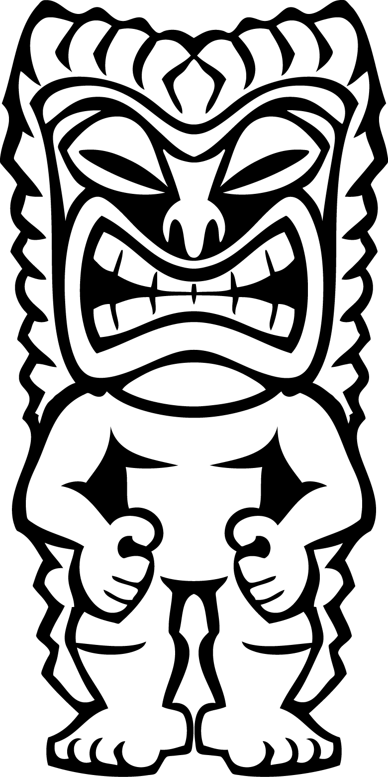 780x1559 Tiki Coloring Pages