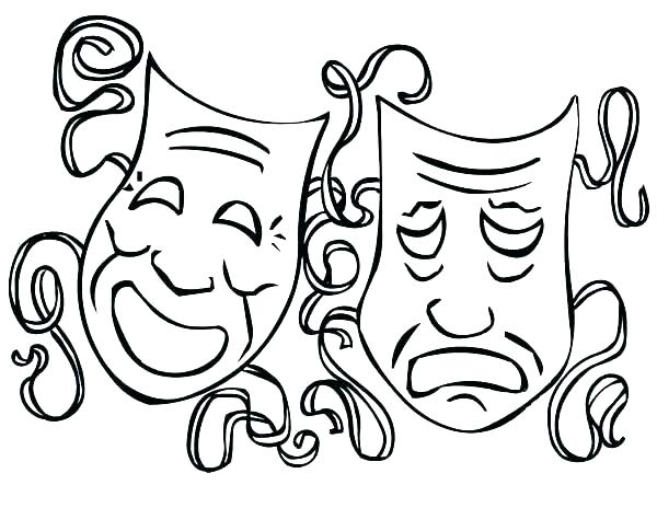 600x464 Tiki Coloring Pages Coloring Pages Mask Coloring Page Coloring