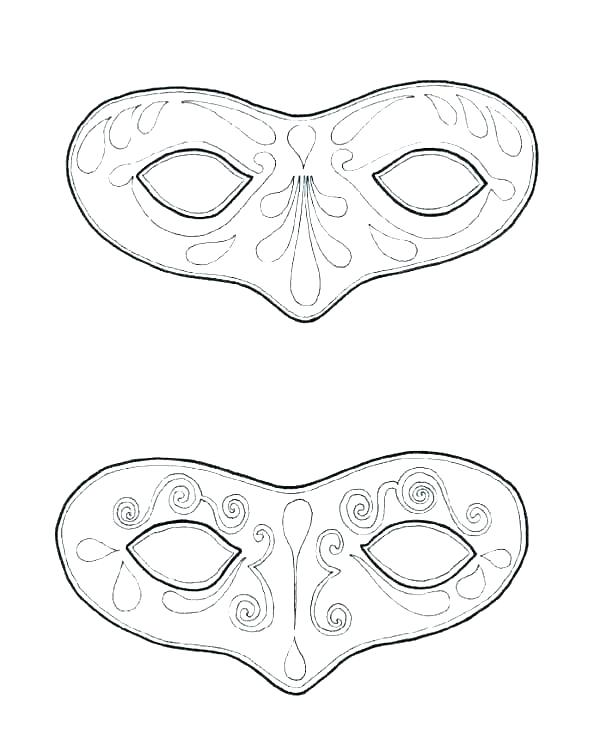 600x753 Mask Coloring Pages Just Mask Coloring Pages Spiderman Mask