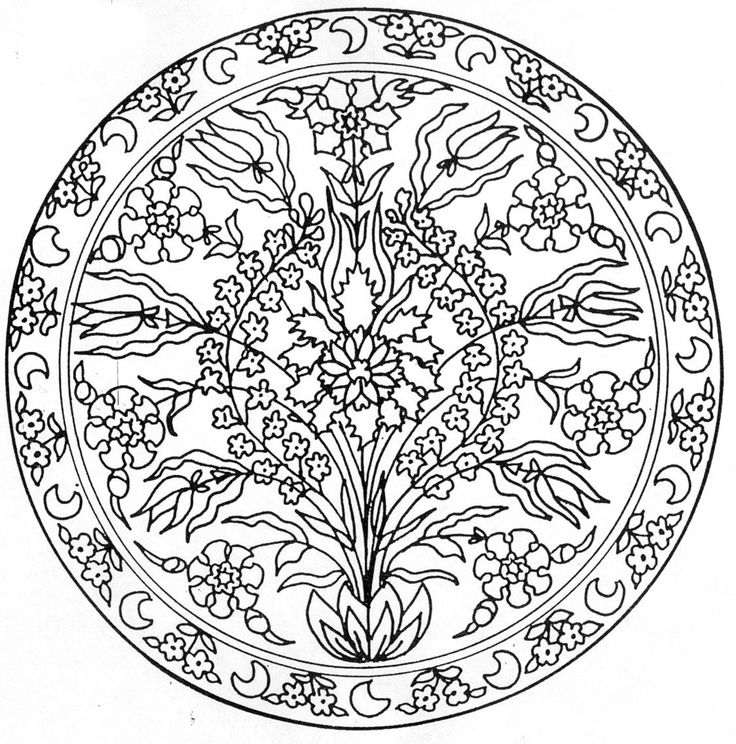 Tile Coloring Pages