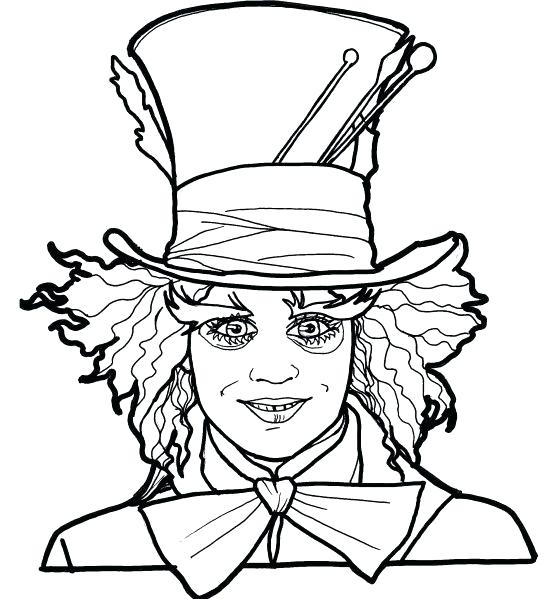 Tim Burton Coloring Pages at GetDrawings | Free download