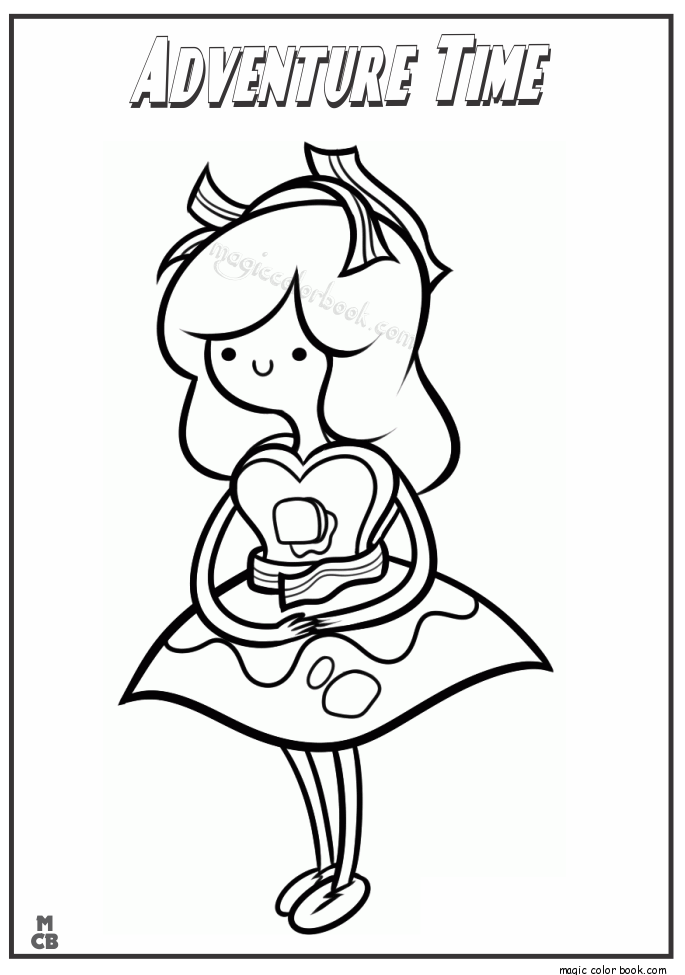 685x975 Adventure Time Coloring Pages