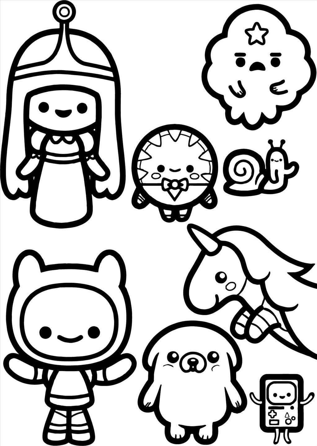 1023x1439 Adventure Time Coloring Pages Ideal Wall Picture Unknown Adventure