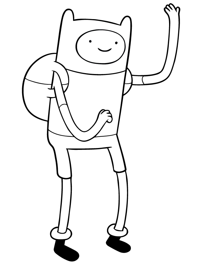 670x867 Adventure Time Coloring Pages Elegant Adventure Time Coloring