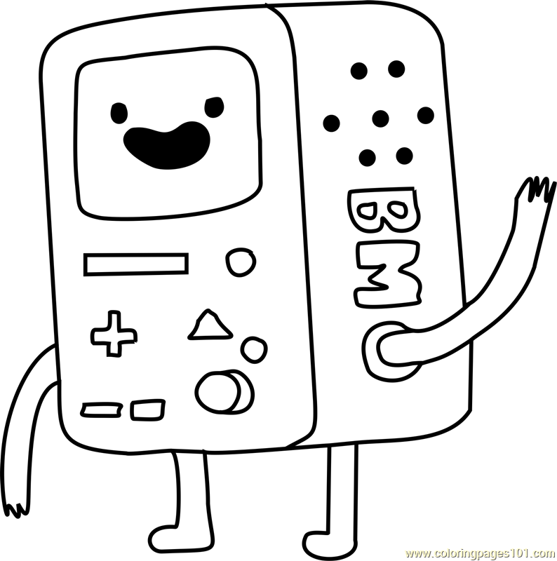794x800 Bmo Coloring Page