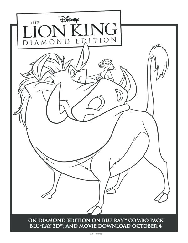 600x776 Timon Coloring Pages Colorg Timon Colouring Pages