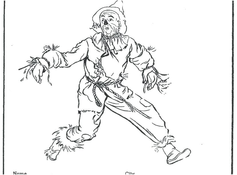 827x609 Wizard Of Oz Coloring Page Wizard Oz Coloring Page Wizard Of Oz