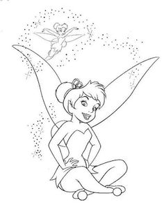 236x297 Free Printable Tinkerbell Coloring Pages For Kids Tinkerbell