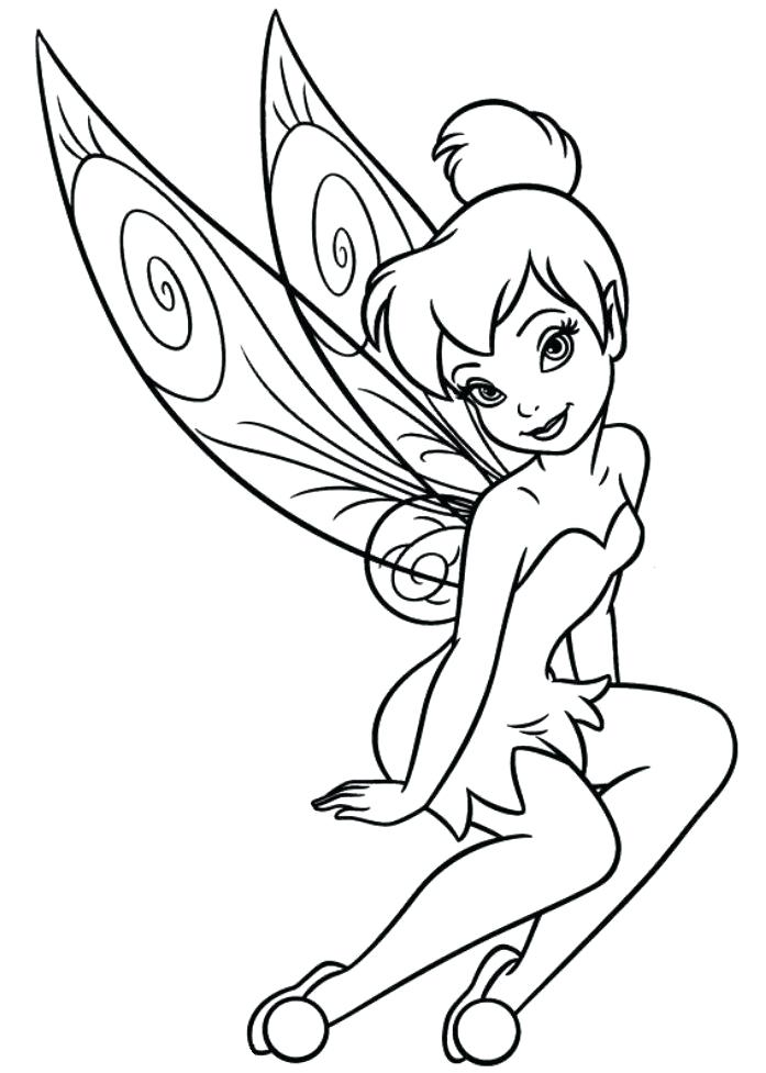 697x977 Tinkerbell Coloring Pages Free Coloring Pages Free Tinkerbell