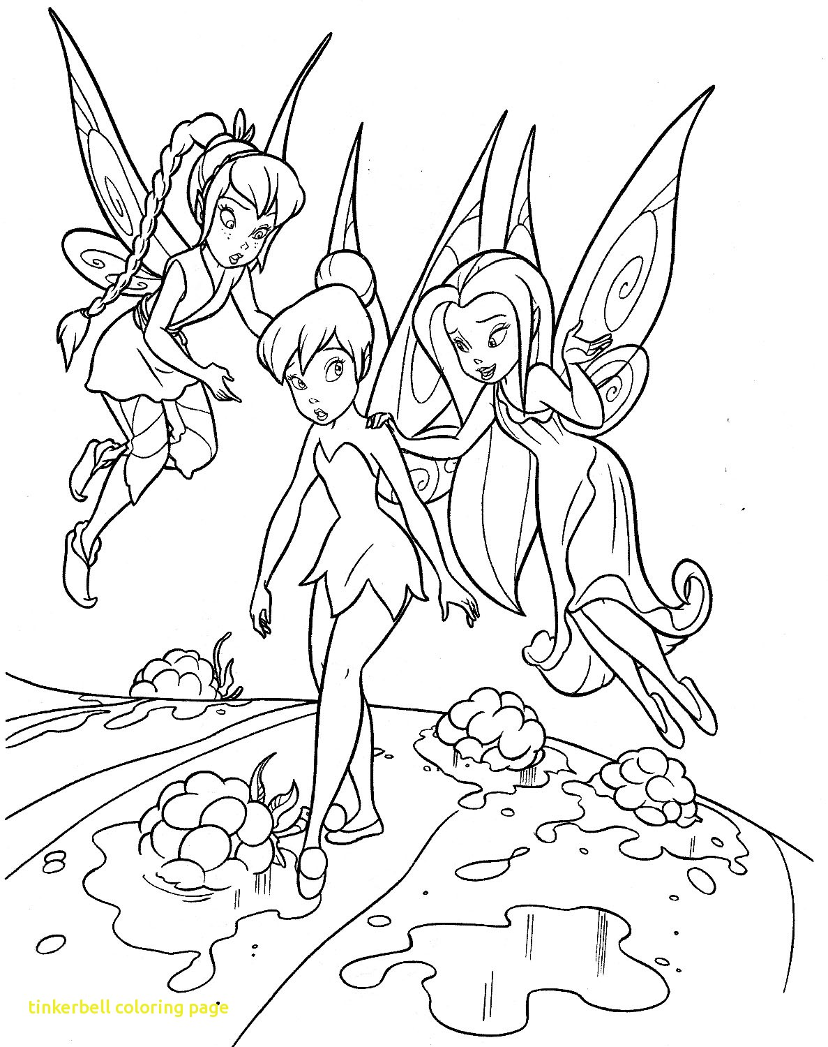 1187x1500 Tinkerbell Coloring Page With Tinkerbell Coloring Pages