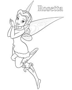 236x294 Tinkerbell Coloring Pages