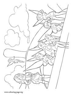 236x310 Disney's The Pirate Fairy Coloring Pages Sheet, Free Disney