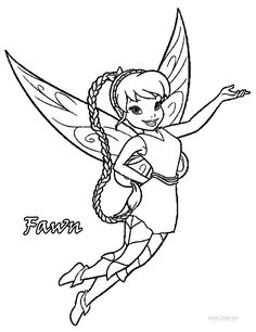 236x306 Fairies Movie Coloring Page For Kids, For Girls Coloring Pages