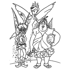 230x230 Top Free Printable Tinkerbell Coloring Pages Online