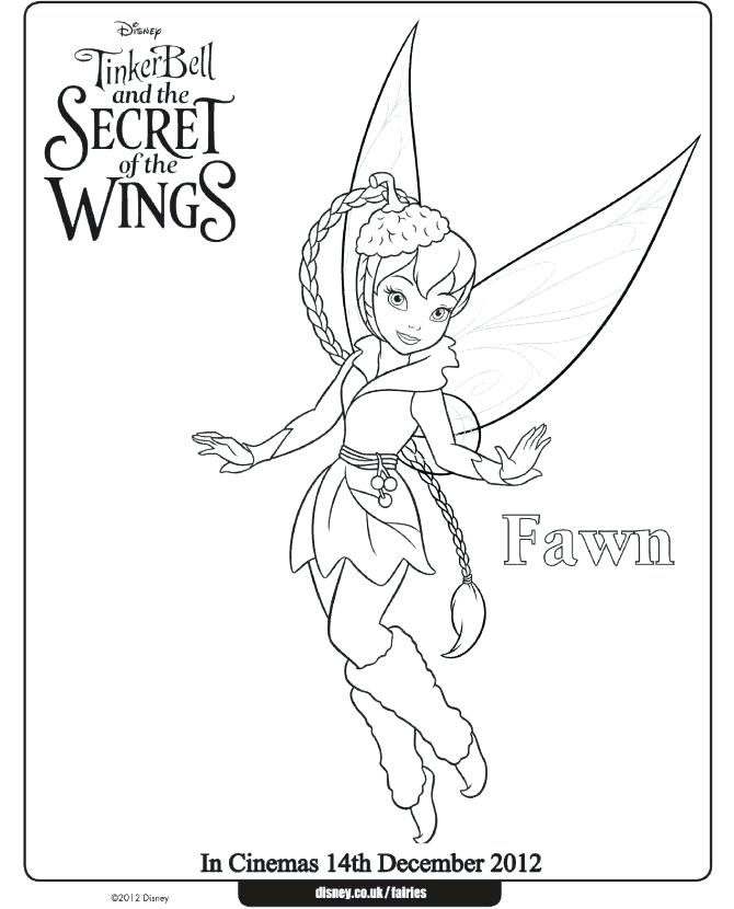 670x830 Coloring Pages Of Tinkerbell Coloring Pages And Periwinkle Movie