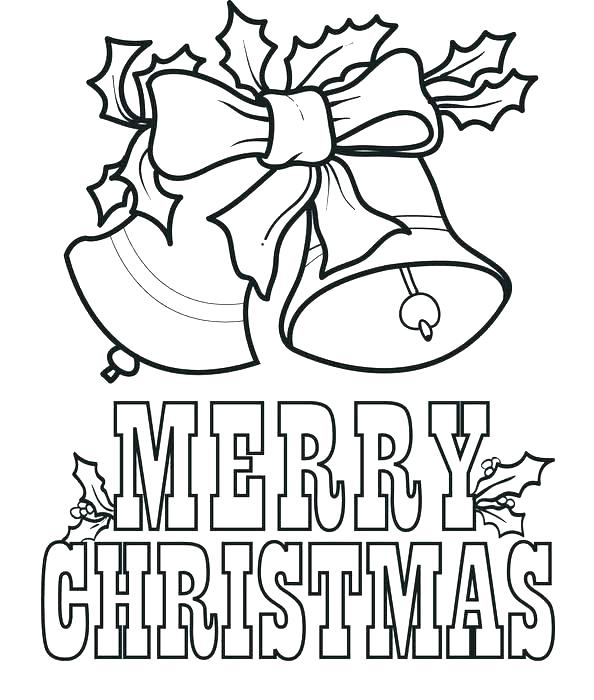 594x700 Christmas Bells To Color G Tinkerbell Christmas Coloring Pages