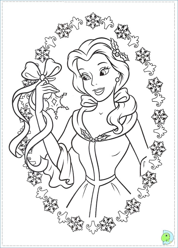 600x834 Disney Tinkerbell Coloring Pages