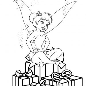 300x300 Tinkerbell Coloring Book Pages Free New Tinker Bell Coloring Pages