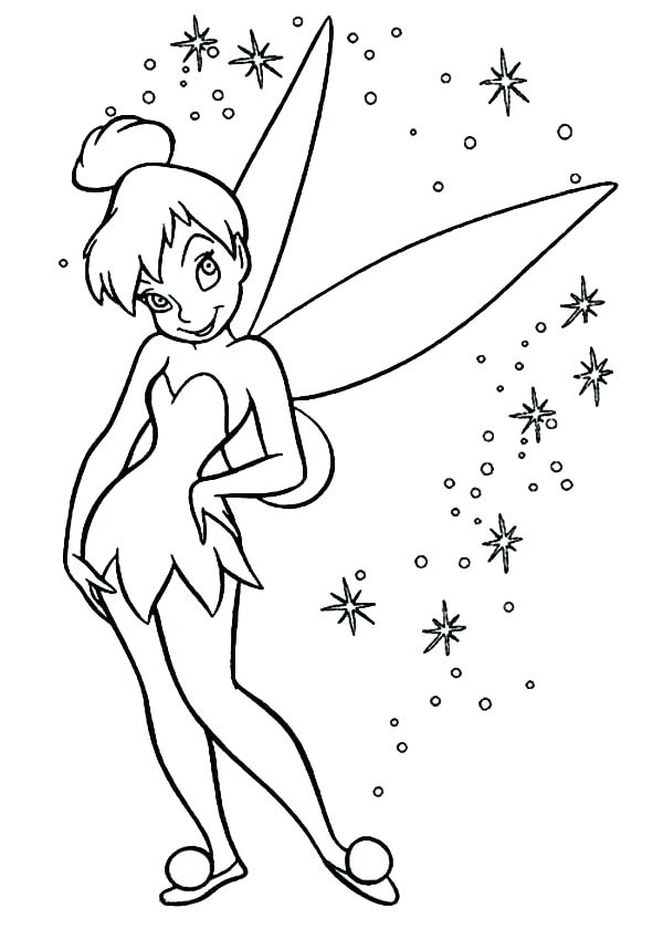 600x840 Tinkerbell Coloring Inspirational Coloring Pages On Image