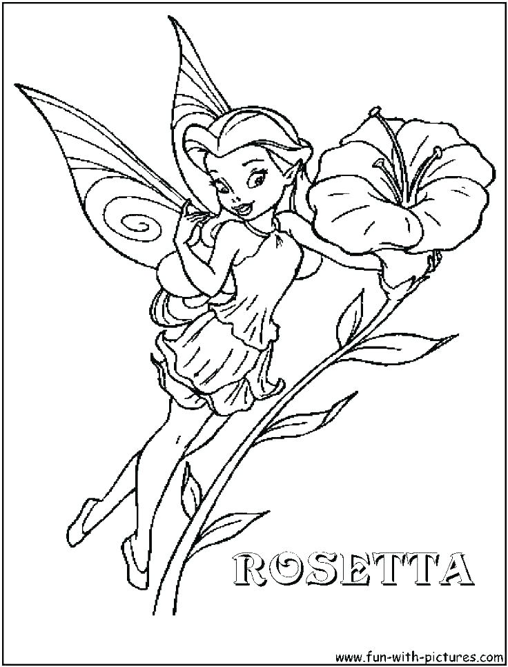 736x966 Tinkerbell Coloring Pages Printable