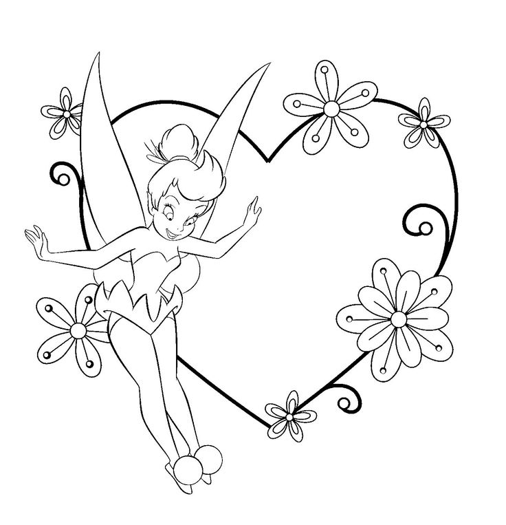 Tinkerbell Coloring Pages at GetDrawings.com | Free for ...