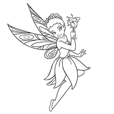 Tinkerbell Coloring Pages at GetDrawings.com | Free for personal use ...