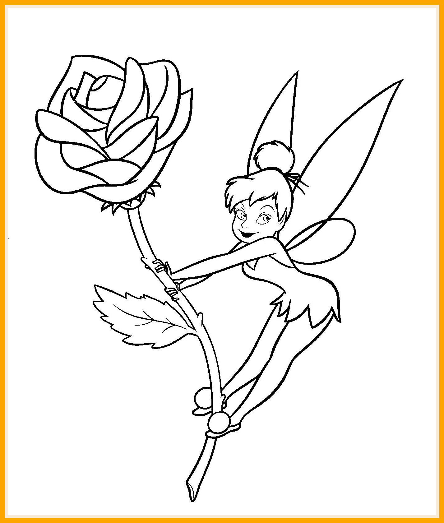 1428x1682 Awesome New Tinkerbell Coloring Pages Pics For Disney And Friends