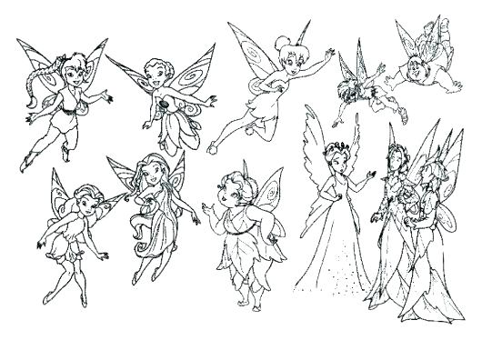 530x374 Tinkerbell Coloring Page Free Coloring Page Tinkerbell Coloring