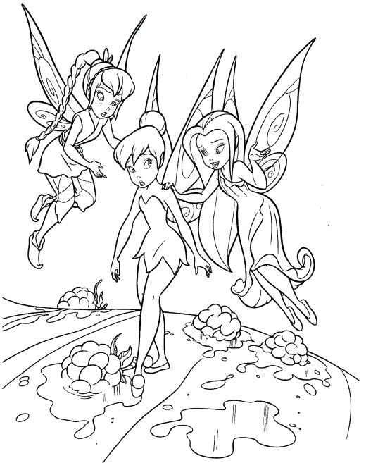 520x657 Tinkerbell Coloring Pages Coloring Pages Tinkerbell Coloring Pages