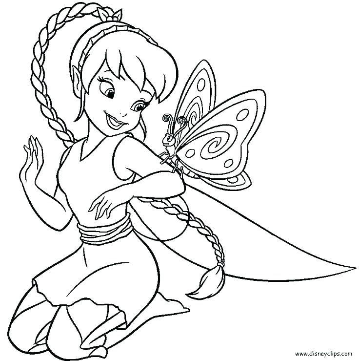 736x739 Disney Tinkerbell Coloring Pages Disney Tinkerbell Colouring Pages