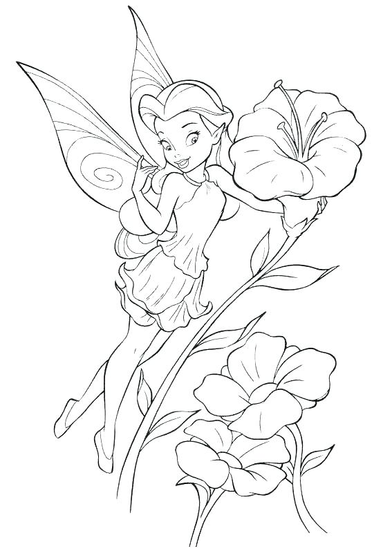 567x794 Tinkerbell And Her Friends Colouring Pages Kids Coloring Coloring