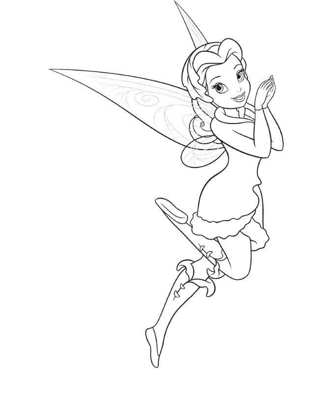 670x812 Tinkerbell Coloring Pages Lovely Tinkerbell And Friends Coloring