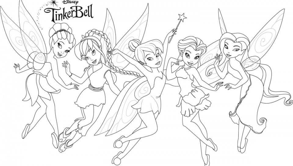 960x544 Tinkerbell Colouring Pages Games Coloring Secret Of The Wings