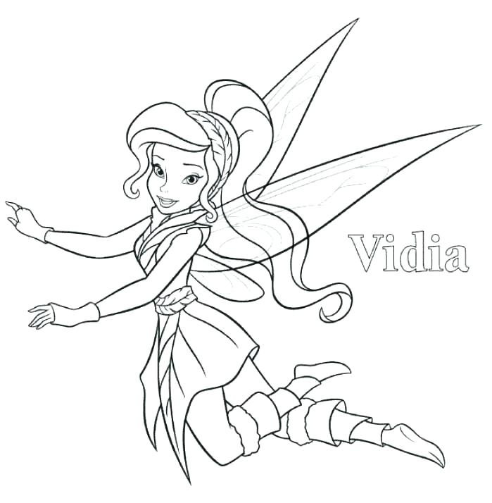 699x714 Tinkerbell Friends Coloring Pages Kids Coloring And Friends