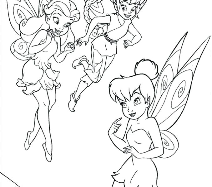 678x600 Coloring Pages Of And Her Fairy Friends Coloring Pages Of Disney