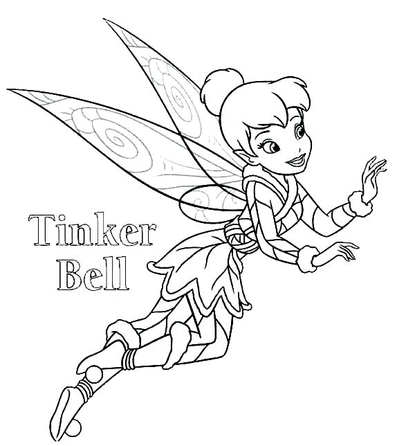 600x644 Tinkerbell Fairies Coloring Pages Coloring Pages Fairies Coloring
