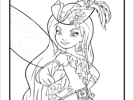 440x330 Fairies Coloring Pages And The Pirate Fairy Coloring Pages Free