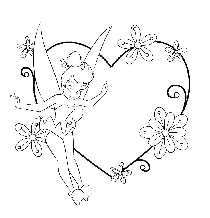 736x763 Tinkerbell Coloring Pages To Print S Disney Tinkerbell Printable