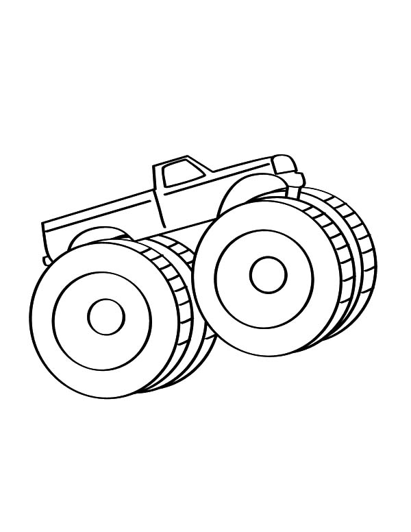600x776 Enermous Car Tire For Truck Coloring Pages Best Place To Color