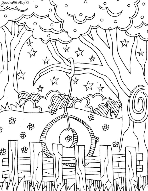 618x800 Summer Coloring Pages