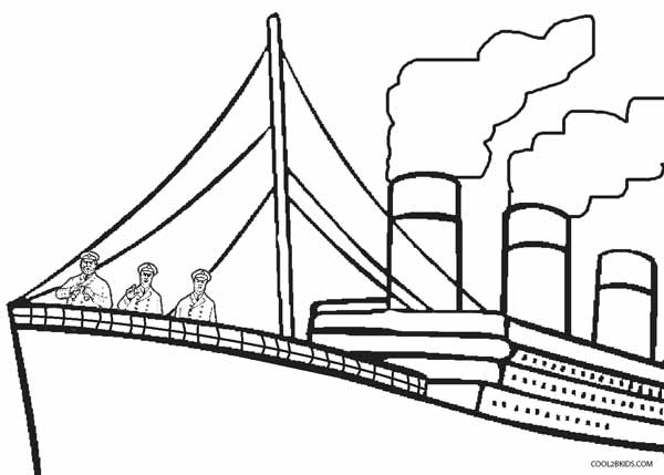 600x429 Printable Titanic Coloring Pages For Kids