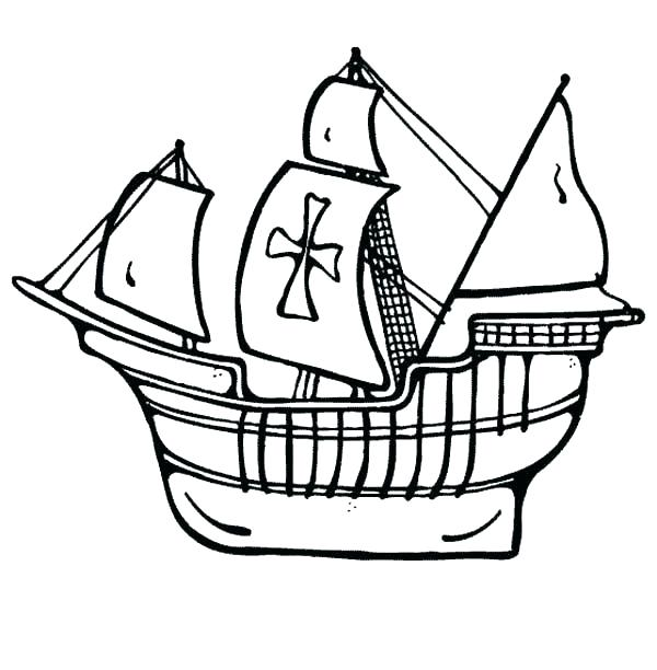 600x612 Ship Coloring Pages Pirate Ship Coloring Pages Ship Coloring Pages