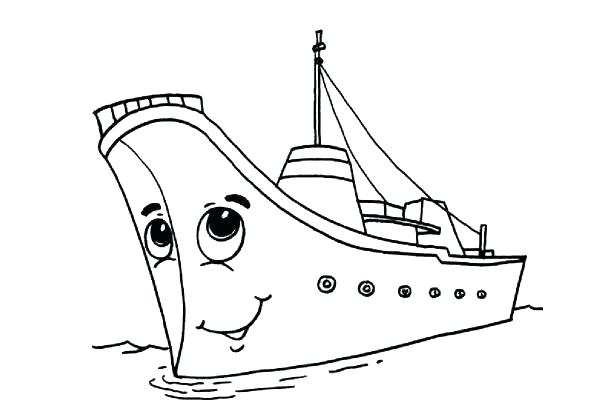 595x418 Ship Coloring Pages Titanic Ship Coloring Pages Free Printable