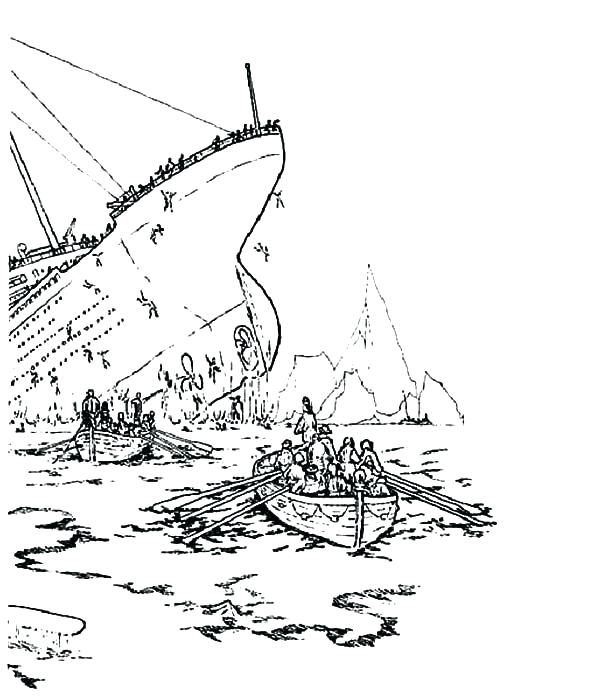 600x699 Titanic Coloring Page Titanic Coloring Book Plus Titanic Titanic