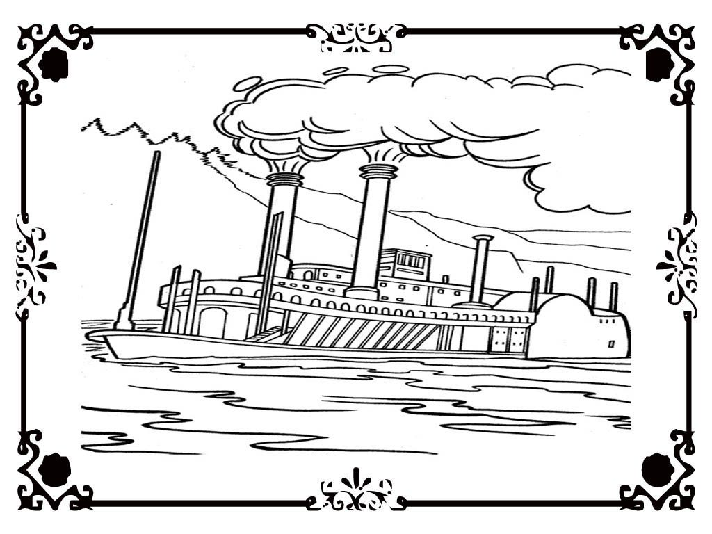 1024x768 Titanic Coloring Pages Printable