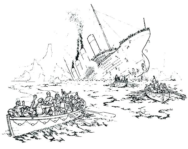 600x475 Titanic Coloring Pages Titanic Coloring Page Titanic Coloring