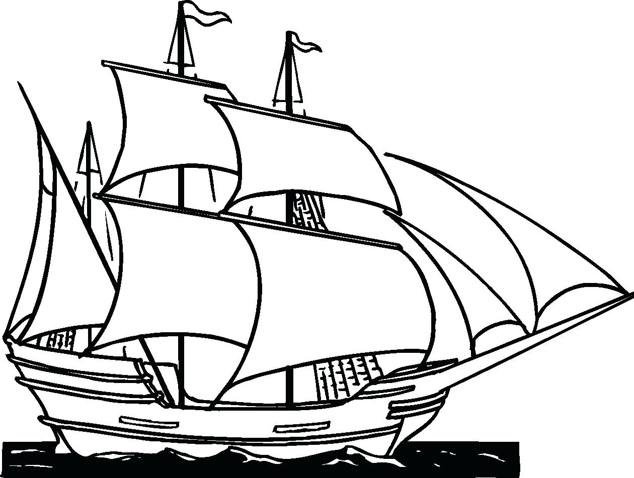 1260x951 Coloring Pages Flowers For Adults Titanic Clipper Ship Pencil