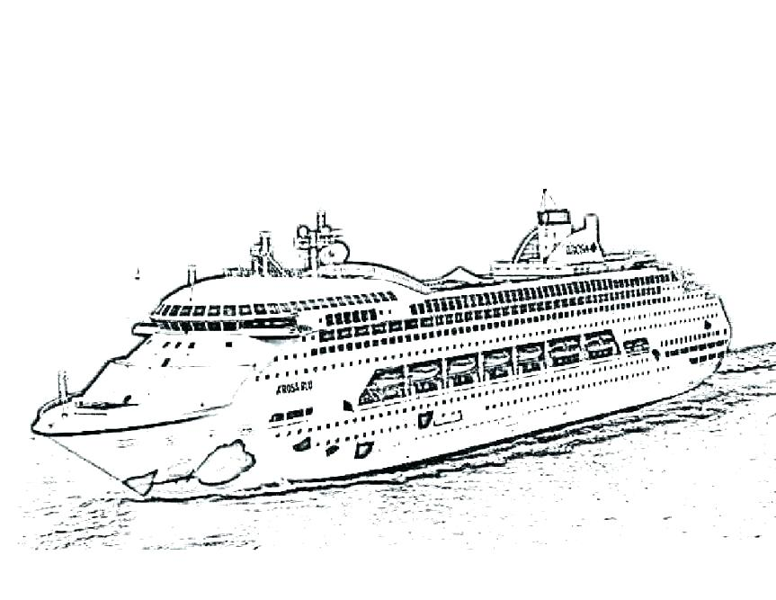 Titanic Sinking Coloring Pages at GetDrawings | Free download