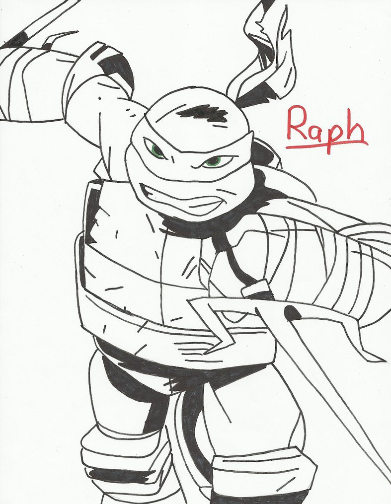 787x1015 Tmnt Coloring Page