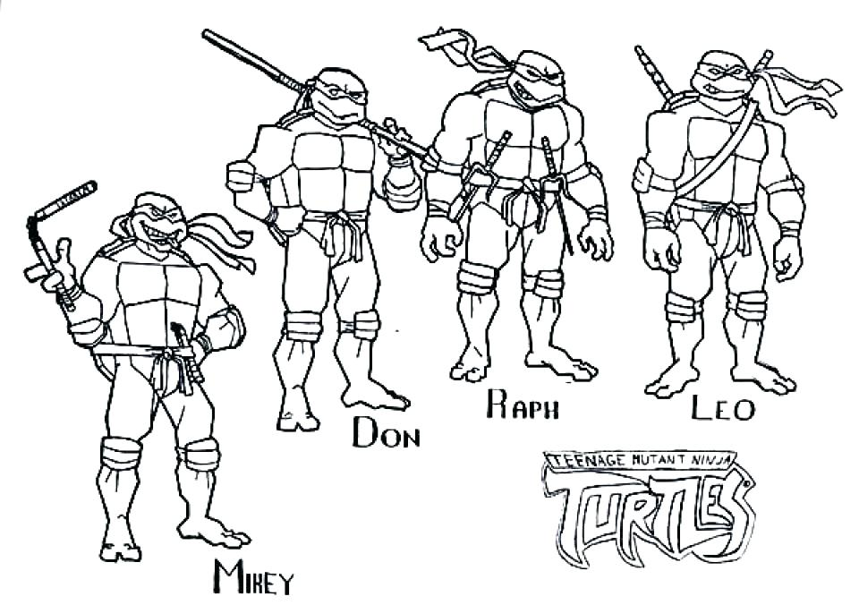 960x676 Tmnt Coloring Book Kids Coloring Coloring Pages Teenage
